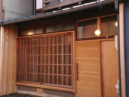 大瀬子町の家