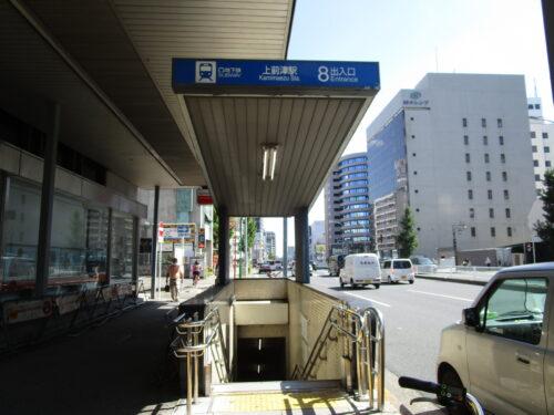 地下鉄線上前津駅