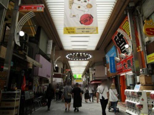 万松寺通商店街